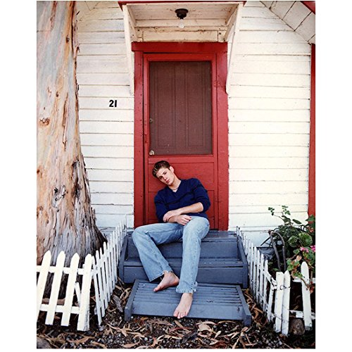 (Jensen Ackles Set of 5 8 inch x10 inch photo Smallville Supernatural Dark Angel Days of Our Lives Young Jensen Tire Swing & Porch Steps kn)