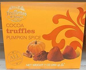 Truffettes de France Pumpkin Spice Cocoa Truffles