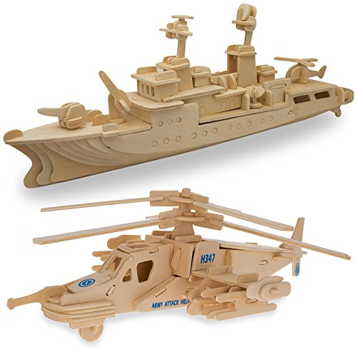Battle Fighter Helicopter Battleship Puzzles product image
