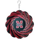 NCAA Nebraska Cornhuskers 10'' Geo Wind Spinner