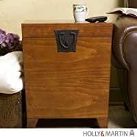 Holly and Martin Dorset Trunk End Table in Oak