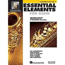 Essential Elements for Band avec EEi: Vol. 1 - Saxophone Alto