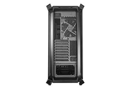 Cooler Master Cosmos C700P Black Edition E-ATX Full-Tower with Curved Tempered Glass Side Panel, Flexible Interior Layout, RGB Lighting Control, ...