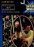 Star Wars Episode 1 Illuminations Glow-in-the-dark Jedi Action Wall Scene