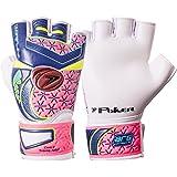 Luva Goleiro Poker Futsal Deep 7 Training - Azul/Pink