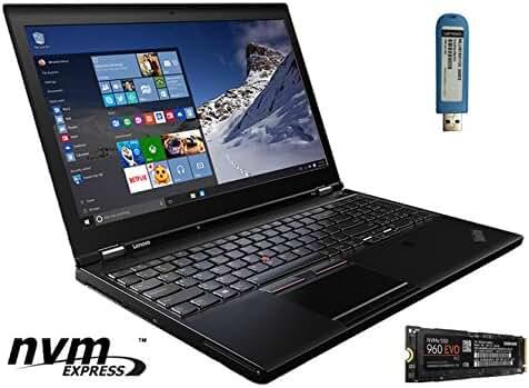 LENOVO THINKPAD P50 LAPTOP WITH NVME: 15.6 FHD IPS, INTEL XEON E3-1505M V5, 64GB RAM, 1TB NVME M.2 SAMSUNG 960 SSD, NVIDIA QUADRO M2000M (4GB), WIN 7 PRO 64-BIT (WIN 10 PRO UPGRADE USB STICK INCLUDED)