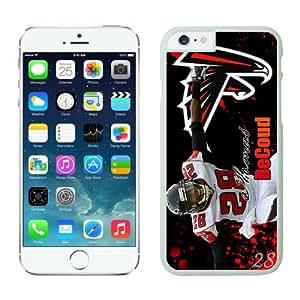 Atlanta Falcons Thomas DeCoud Case For iPhone 6 White 4.7 inches
