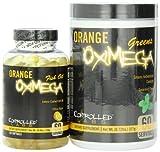 Controlled Labs Orange Oximega (Fish & Greens Formula), 120 Softgels
