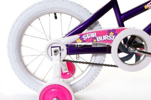 Dynacraft Magna Starburst Girls BMX Street/Dirt Bike 16'', Purple/White/Pink by Dynacraft (Image #3)