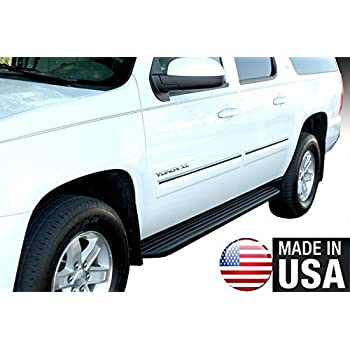 Works with 2000-2006 Chevy Suburban//AvalancheRocker Panel Chrome Stainless Steel Body Side Moulding Molding Trim Cover 1.5 Wide 4PC Made in USA