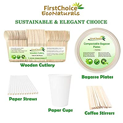 Disposable Wooden Cutlery Sets