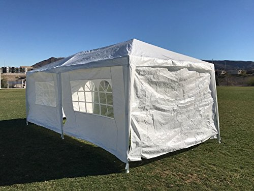 Palm Springs Outdoor 10 x 20 Wedding Party Tent Canopy with 4 Sidewalls by Palm Springs (Image #2)