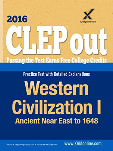 CLEP Western Civilization I: Ancient Near East to 1648 (Clep Western)