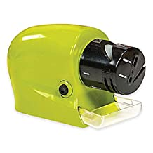 hibote Professional Two Stage Knife Sharpener Sharpener Knives Precision Power Sharpener professionally sharpen your knives, scissors, tools and more at home