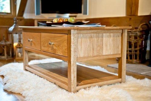 Somerset Oak furniture furniture Couchtisch mit Schubladen