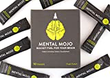 (Patent-Pending) Mental Mojo - Neurochemist-Designed Nootropic Brain Supplement - Nootropic Powder Brain Drink Boosts Focus, Memory and Energy