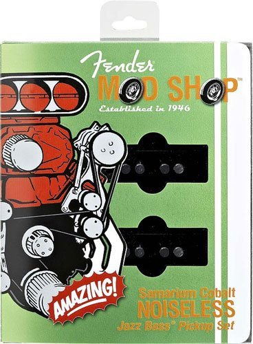 Fender Scn Noiseless Jazz Bass Pickups (Set Of 2 Black)
