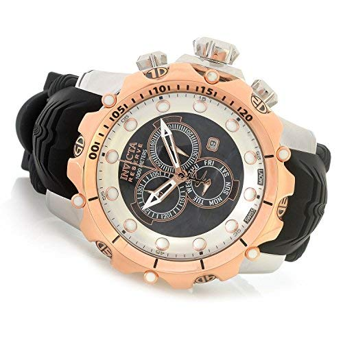Invicta Reserve 52mm Venom Sea Dragon Gen II Swiss Quartz Chronograph Silicone Strap Watch - Lupah Dragon Invicta