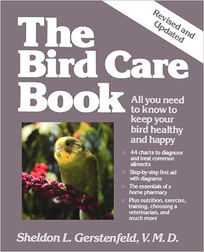 The Bird Care Book