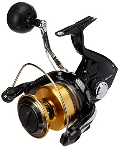 Shimano Socorro 5000 SW, heavy duty saltwater spinning fishing reel, SOC5000SW