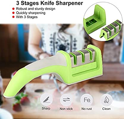 Dropshipping 3 Stages Knife Sharpener Kitchen Quick