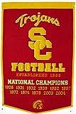 USC Trojans Official NCAA 24 inch x 36 inch Dynasty Banner Flag by Winning Streak