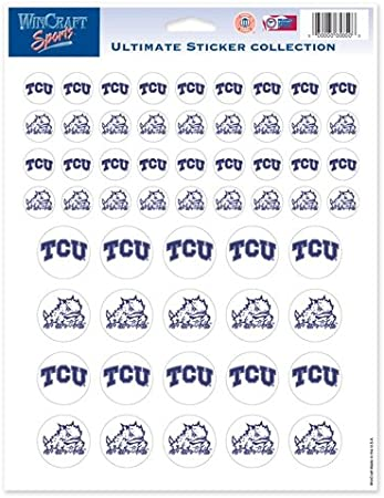 8.5 x 11 NCAA Color Vinyl Sticker Sheet