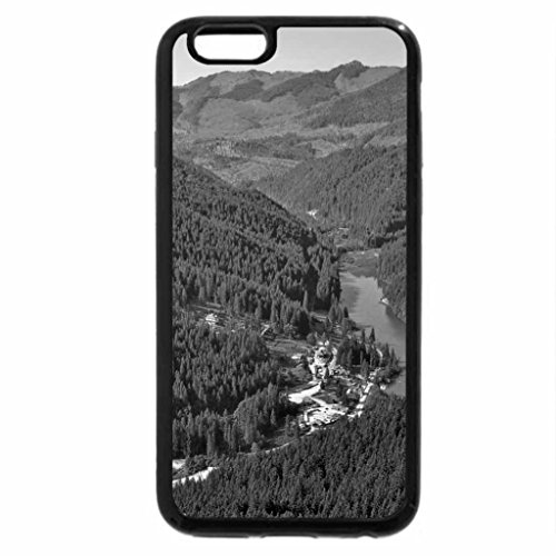 iPhone 6S Case, iPhone 6 Case (Black & White) - BICAZ VALLEY