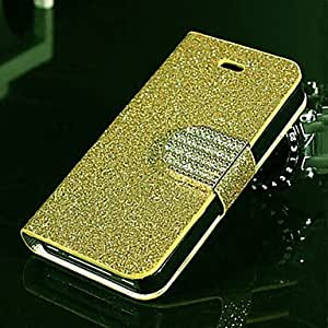 SHOUJIKE Shimmering Full Body Case with Stand iPhone4/4S (Assorted Color) , Silver