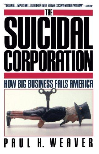 Suicidal Corporation (Touchstone Books)
