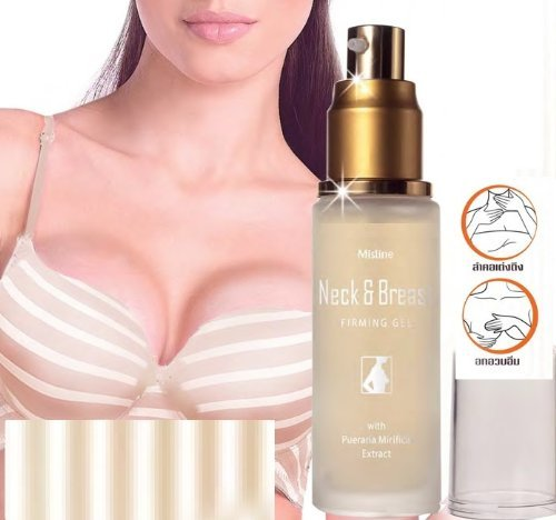 Mistine Neck & Breast Herbal Pueraria Mirifica Firming Lifting & Tightening Gel 30 ML. by Neck (Advanced Extra Firming Neck Cream)