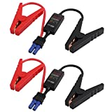 uxcell 2pcs 12V 200A EC5 Connector Emergency Jumper Cable Alligator Clamps Booster Battery Clips
