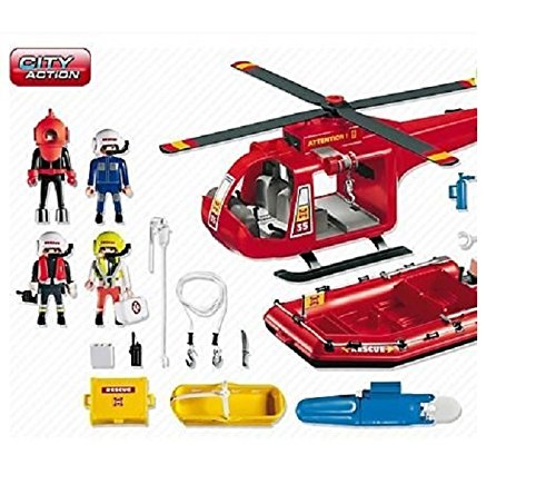 playmobil fire truck instructions