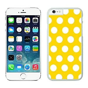 Polka Dot Yellow and White Iphone 5s Cases White
