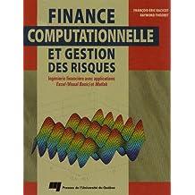 Finance computationnelle et gestion des risques