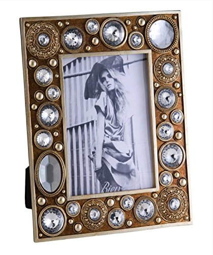 - Ore International K-4261D Mahla Picture Frame, 5-Inch by 7-Inch, Gold