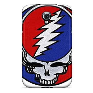 Scratch Resistant Cell-phone Hard Covers For Samsung Galaxy S4 (WWU15136EMHZ) Unique Design Attractive Grateful Dead Band Image