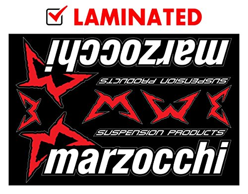 Marzocchi Decals Stickers Bike Forks Heavy Duty Vinyl Graphic Set - Marzocchi Bike Forks