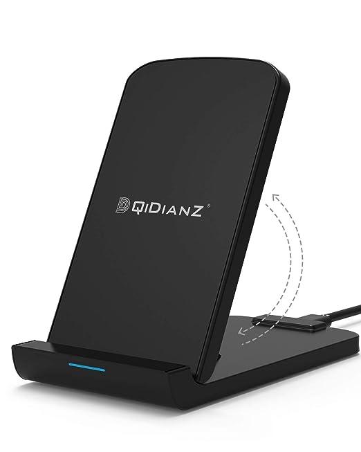 Cargador Inalámbrico,DQiDianZ Plegable Control inteligente 5W 7.5W 10W QI Certificado rápido Cargador inalámbrico para iPhone X / 8/8 Plus,Fast ...