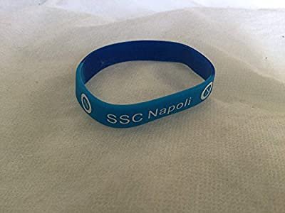 Ssc Napoli Blue and Navy Silicone Wristband