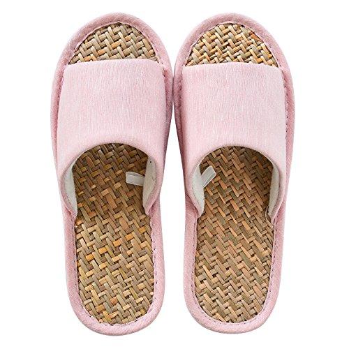 38 non linen 37 slippers Summer slip Pink slippers xP8q64f4w