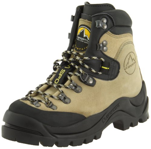 La Sportiva Men's Makalu Boot,Natural,46 (US Men's 12.5) D US (Boots Custom Hunting)