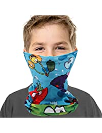 Kids Youth Neck Gaiter Fishing Sun Mask - Junior UV Protection Face Tube Mask