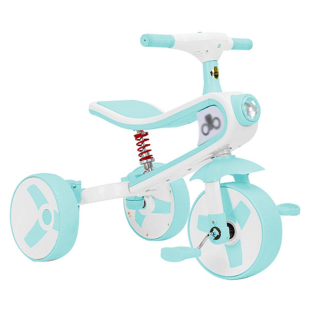 子供用トライク、三輪車の乗り物バイク、赤ちゃんの滑り自転車、おもちゃの自転車、自転車の子供、フットペダルの3つの車輪 (色 : D) B07DVJLTDH D D