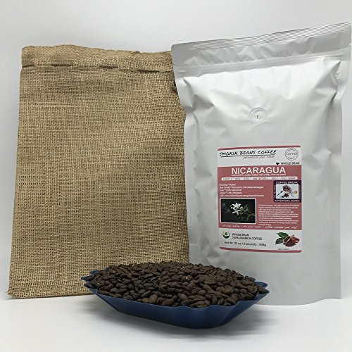 2 Pounds - Central American - Nicaragua - Roasted To Order Coffee - Order Today We Roast It Today - Choose -Light Roast/Blonde Roast/Medium Roast/Med-Dark Roast/Dark Roast/Italian Roast