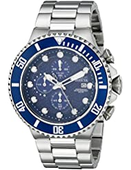 Invicta Mens 18907 Pro Diver Analog Display Japanese Quartz Silver Watch