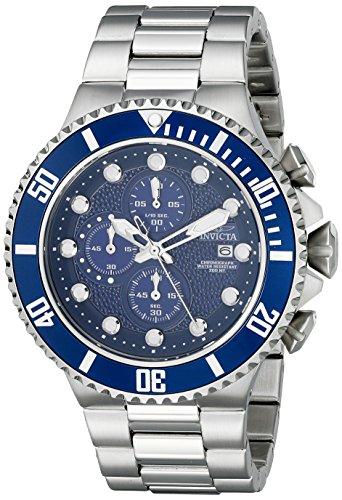Invicta Chronograph Bracelet - Invicta Men's 18907 Pro Diver Analog Display Japanese Quartz Silver Watch