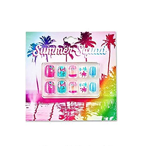 Justice Girls Press-on Nails Summer Squad by Justice