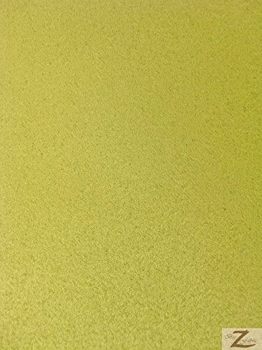 (Suede Microsuede Upholstery Fabric-Celery- 58