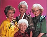 #10: The Golden Girls Cast Signed Autographed 8 X 10 Reprint Photo - Mint Condition